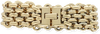 Goldfarbene NOTRE-V Armband ARMBAND BREDE SCHAKEL  - small