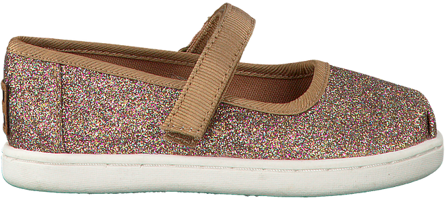 gold TOMS shoe MARY JANE  - large
