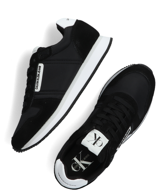 Schwarze CALVIN KLEIN Sneaker low RUNNER SNEAKER LACEUP  - large