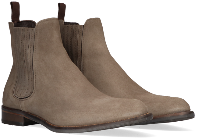 Taupe MAZZELTOV Chelsea Boots 4203  - large