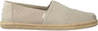 Beige TOMS Espadrilles ALPARGATA MEN  - medium