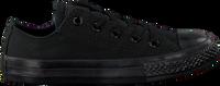 Schwarze CONVERSE Sneaker CTAS OX KIDS - medium