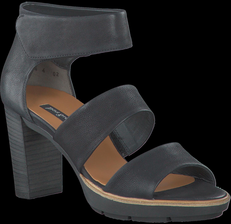 PAUL GREEN PUMPS Gr. 42 (8) schwarz Sandaletten Sandalen