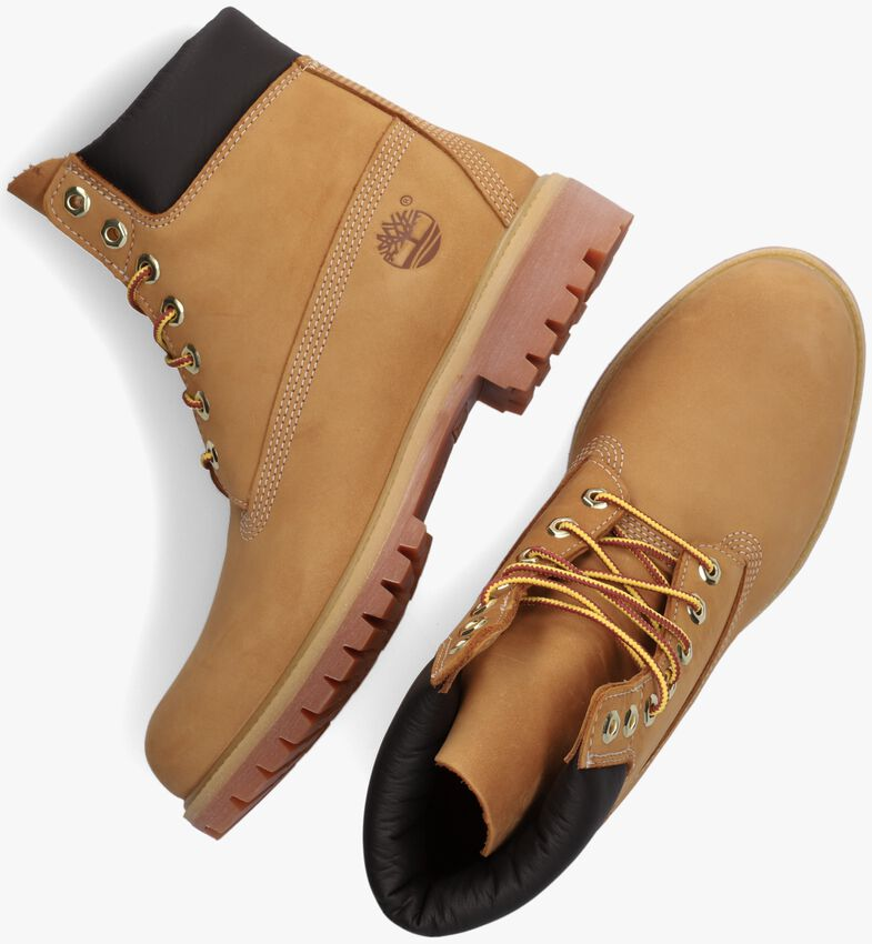 Camelfarbene TIMBERLAND Ankle Boots 6IN PREMIUM FTB - larger