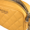 Goldfarbene GUESS Handtasche SWEET CANDY MINI XBODY TOP ZIP  - small
