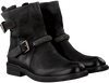 Schwarze MJUS Biker Boots 971241 SOLE PAL - small