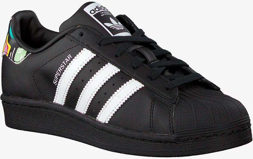 Schwarze ADIDAS Sneaker SUPERSTAR J  - larger