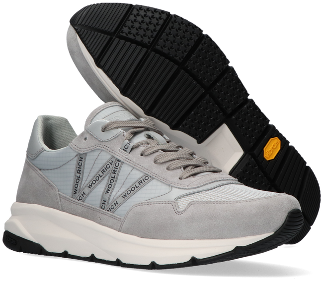 Graue WOOLRICH Sneaker high TRAIL RUNNER MAN CAMOSCIO  - large