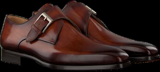Cognacfarbene MAGNANNI Business Schuhe 23040  - large