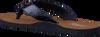 Blaue TOMMY HILFIGER Pantolette GLITTER BEACH SANDAL - small