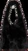 Schwarze UNISA Handtasche ZPIRO  - small