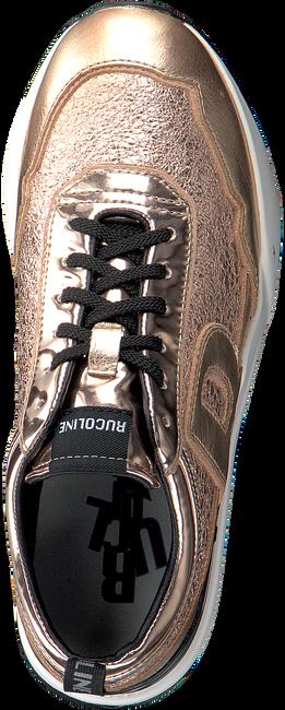 Goldfarbene RUCOLINE Sneaker 4041 FERRER MIRROR  - large
