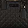 Schwarze GUESS Handtasche ELLIANA STATUS SATCHEL  - small