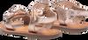 Bronzefarbene GIOSEPPO Sandalen ELNE  - small