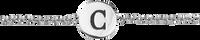 Silberne ALLTHELUCKINTHEWORLD Armband CHARACTER BRACELET LETTER SILV - medium