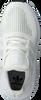 Weiße ADIDAS Sneaker SWIFT RUN C - small