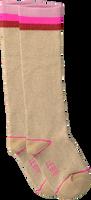 Braune LE BIG Socken TARYN KNEE HIGH  - medium