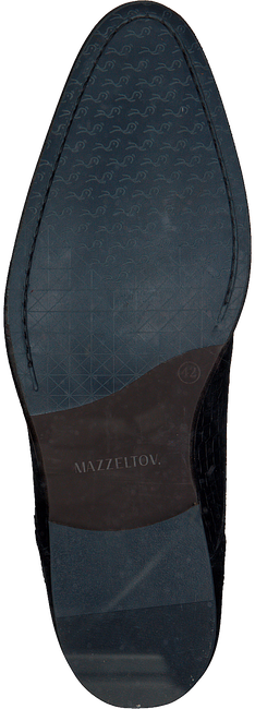 Schwarze MAZZELTOV Schnürschuhe MREVINTAGE603.  - large