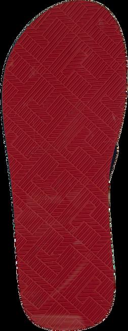 Blaue TOMMY HILFIGER Pantolette SPORTY CORPORATE BEACH  - large