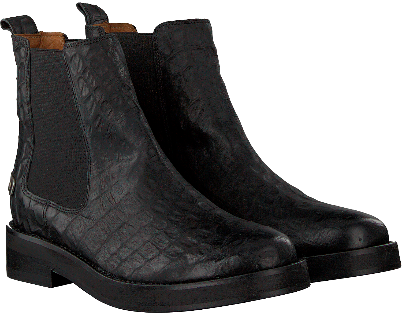 eb4d9302e1fe15 Schwarze SHABBIES Chelsea Boots 181020106 - Omoda.de