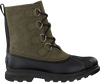 Grüne SOREL Ankle Boots PORTZMAN CLASSIC WATERPROOF - small
