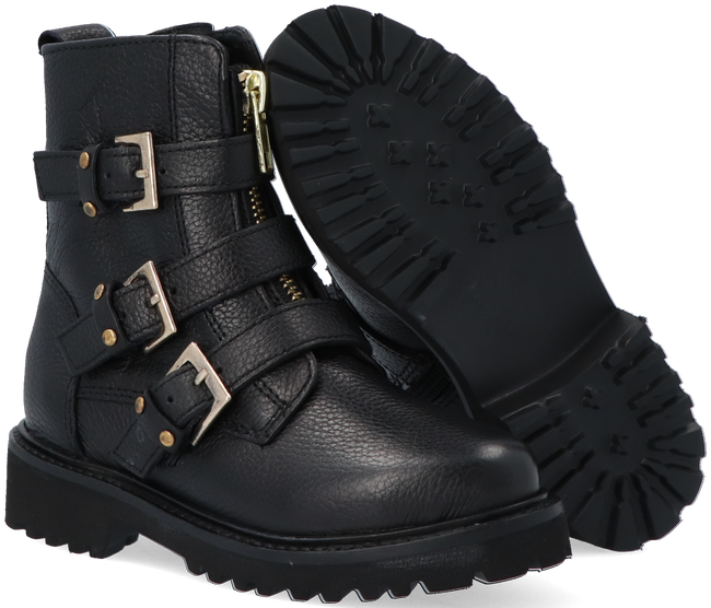 Schwarze OMODA Ankle Boots BEE 572-A KIDS OMODA  - large