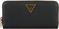 Schwarze GUESS Portemonnaie DESTINY SLG LARGE ZIP AROUND  - medium