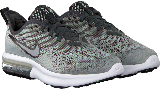 Graue NIKE Sneaker AIR MAX SEQUENT 4  - large