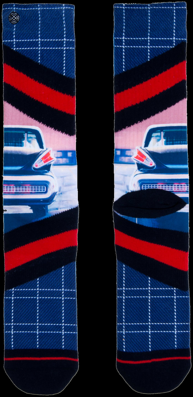 Mehrfarbige/Bunte XPOOOS Socken CHROME QYMi8