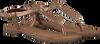 Bronzefarbene LAZAMANI Sandalen 75.422 - small