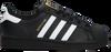 Schwarze ADIDAS Sneaker low SUPERSTAR J  - small