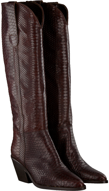 Braune NOTRE-V Hohe Stiefel AH69  - large