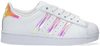 Weiße ADIDAS Sneaker low SUPERSTAR C  - small