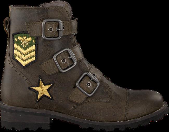 Grüne BRAQEEZ Ankle Boots TIRZA TONE - large