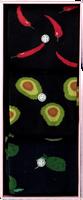 Mehrfarbige/Bunte Alfredo Gonzales Socken FOOD BOX  - medium