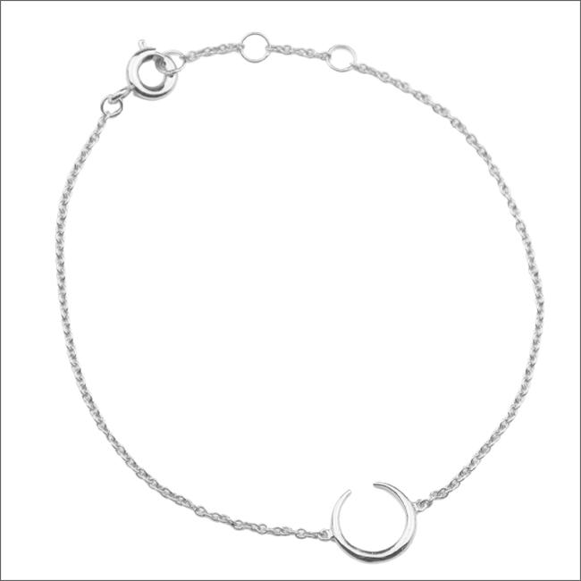 Silberne ALLTHELUCKINTHEWORLD Armband SOUVENIR BRACELET HORN - large