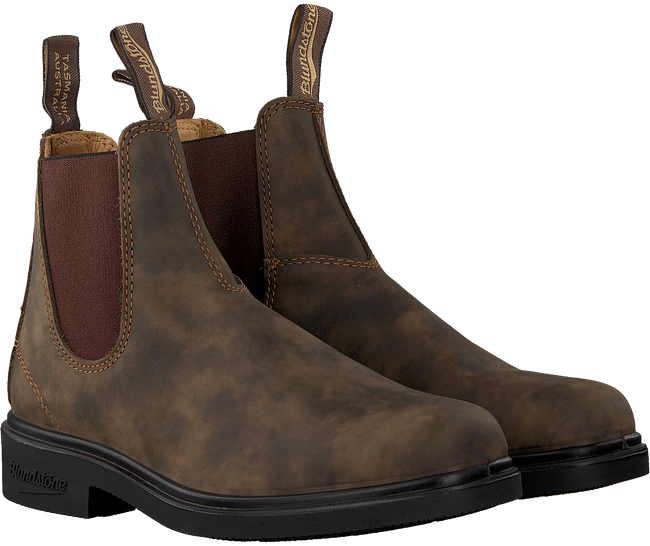 Braune BLUNDSTONE Chelsea Boots DRESS BOOT DAMES  - large