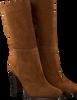 Cognacfarbene NOTRE-V Hohe Stiefel AH70  - small