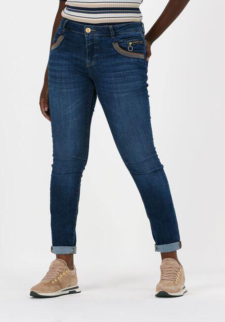 Blaue MOS MOSH Slim fit jeans NAOMI SHADE BLUE JEANS - large