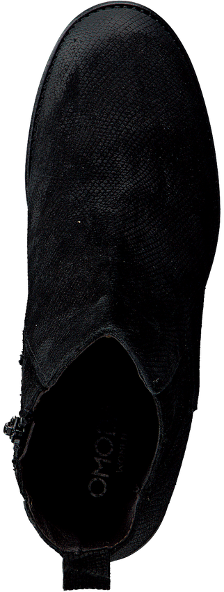 Schwarze OMODA Stiefeletten 8340-Z - larger