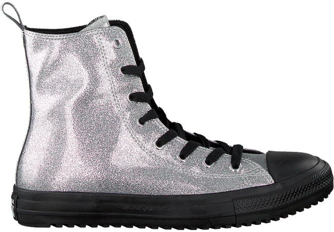 Silberne CONVERSE Sneaker ALL STAR BOOT -X-HI  - large