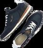 Blaue PME Sneaker low LOCKPLATE  - small