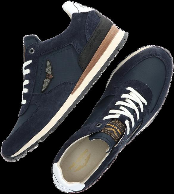 Blaue PME Sneaker low LOCKPLATE  - large