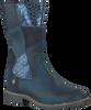 Blaue TWINS Langschaftstiefel 316632 - small