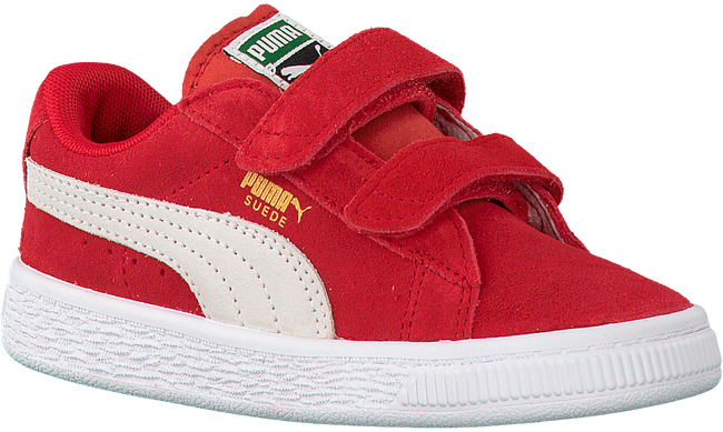 Rote PUMA Sneaker SUEDE 2 STRAPS - large