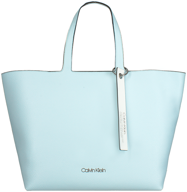 Blaue CALVIN KLEIN Shopper NEAT EW SHOPPER - large