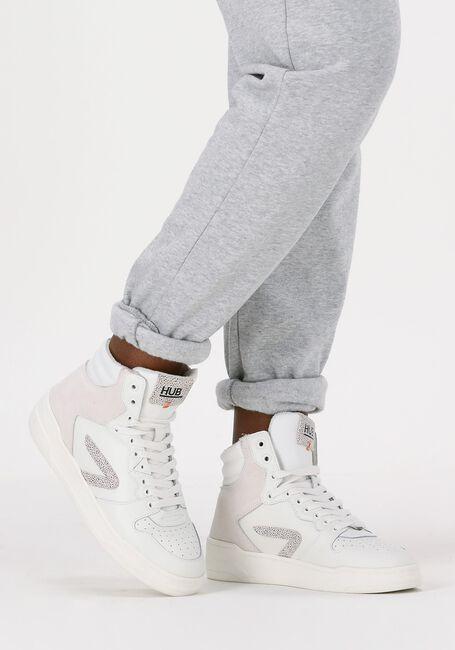 Weiße HUB Sneaker high COURT-Z HIGH  - large