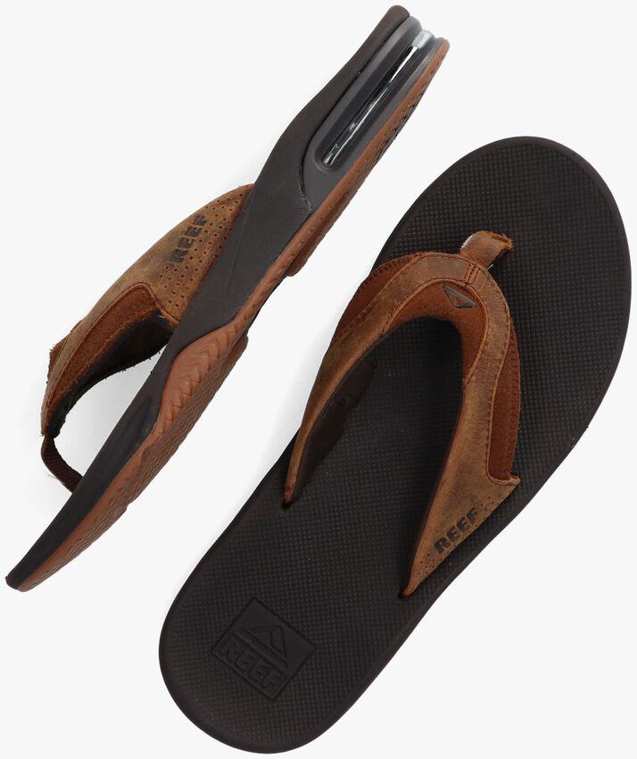 Braune REEF Pantolette FANNING  - larger