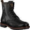 Schwarze SCOTCH & SODA Schnürboots BORREL  - small