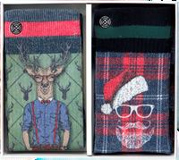 Mehrfarbige/Bunte XPOOOS Socken XMAS GIFTBOX 60171 & 60173  - medium